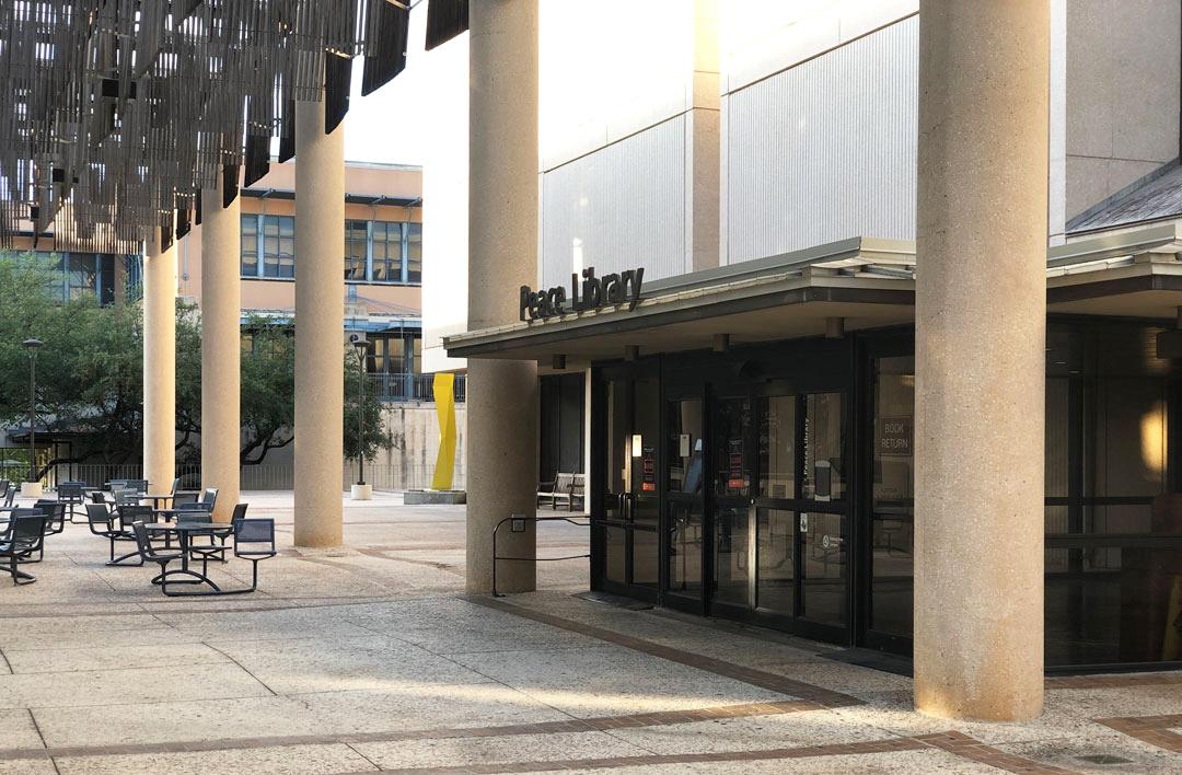John Peace Library Entrance