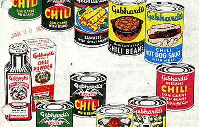 Gebhardt Mexican Foods Company Records